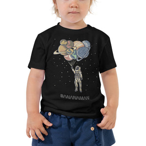 Space Balloons - Toddler Short Sleeve Tee