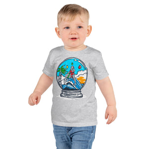 Christmas Globe - Short sleeve kids t-shirt