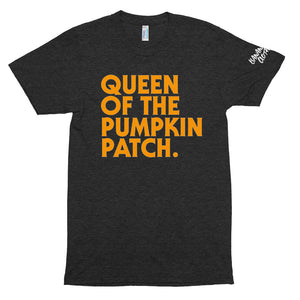 Queen Pumpkin - Unisex Tri-Blend Track Shirt