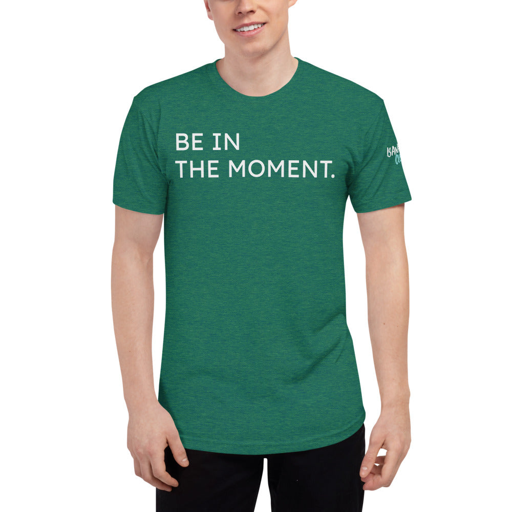 The Moment - Unisex Tri-Blend Track Shirt
