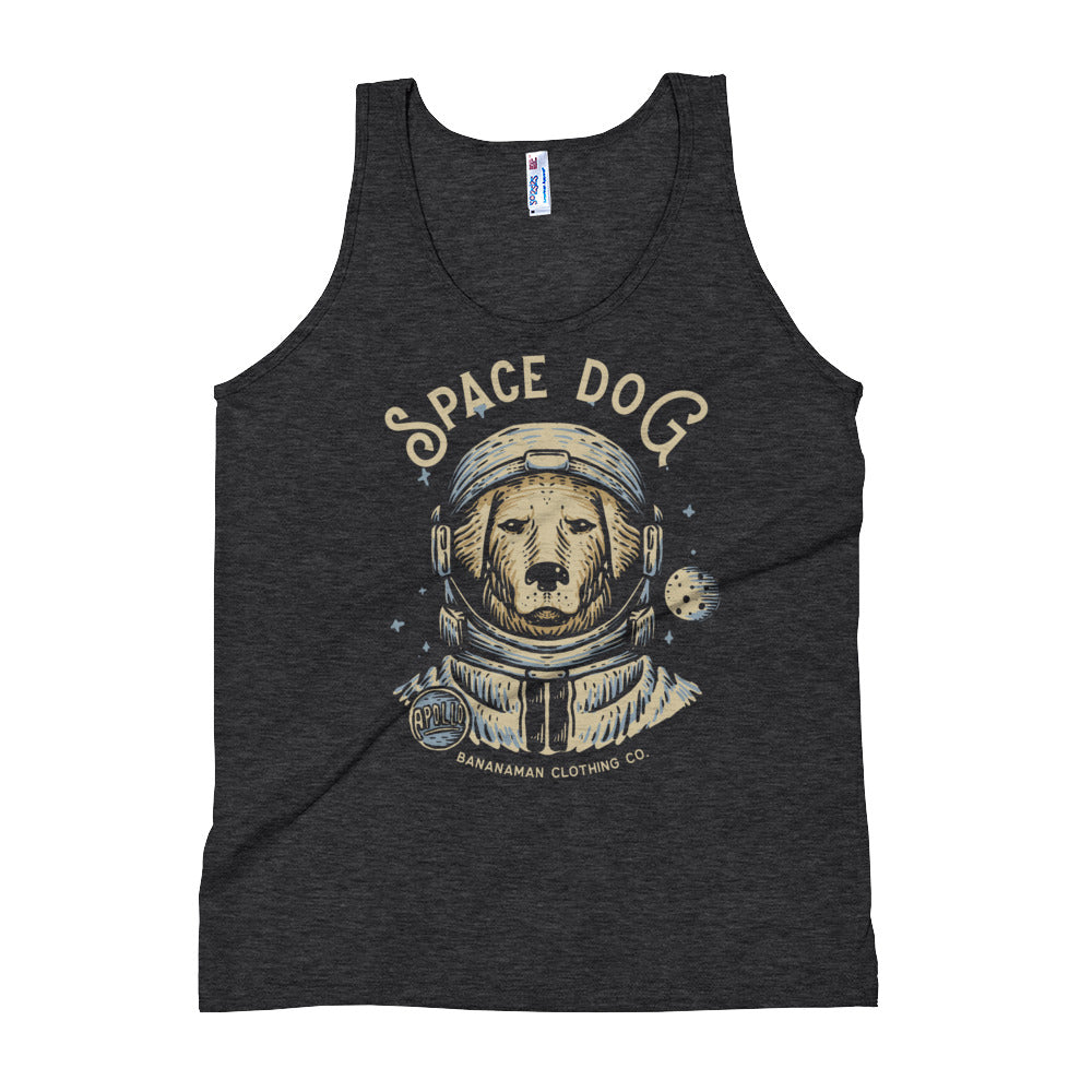 Space Dog - Unisex Tank Top
