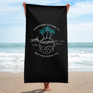 Skull Island - Beach Towel