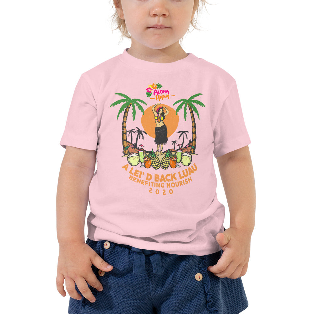 Lei'd Back Luau for Nourish - Toddler Short Sleeve Tee
