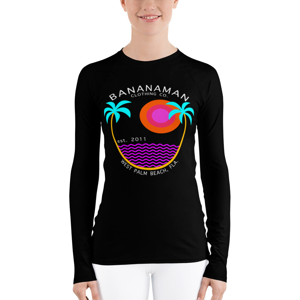 The Palms - Women's Rash Guard