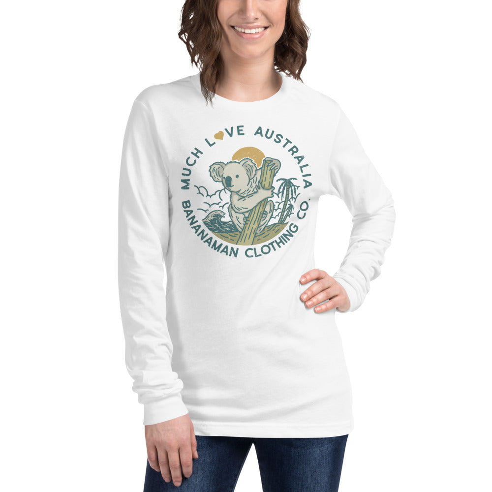 The Koala - Unisex Long Sleeve Tee (Backup for Out of Stock)