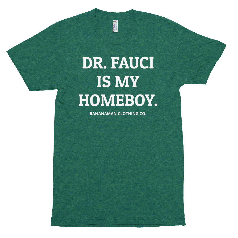 The Fauci - Unisex Tri-Blend Track Shirt