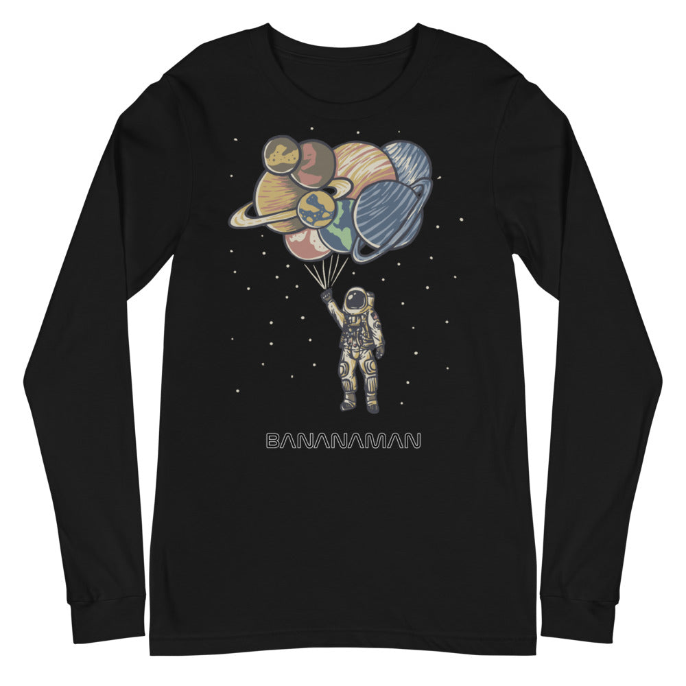 Space Balloons - Unisex Long Sleeve Tee