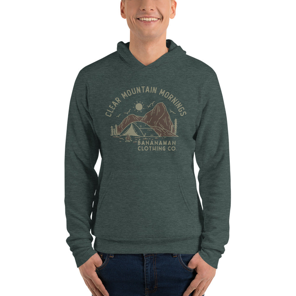 Clear Mountain Mornings - Unisex hoodie