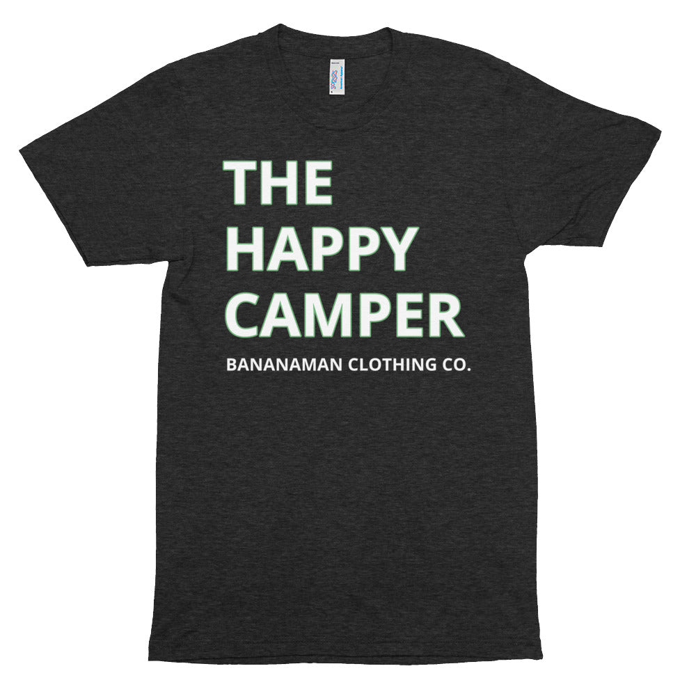 Happy Camper - Unisex Tri-Blend Track Shirt