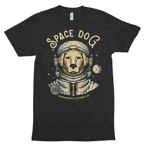 Space Dog - Unisex Tri-Blend Track Shirt