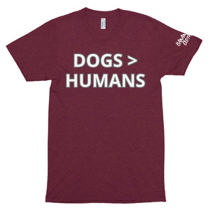 Dogs - Unisex Tri-Blend Track Shirt