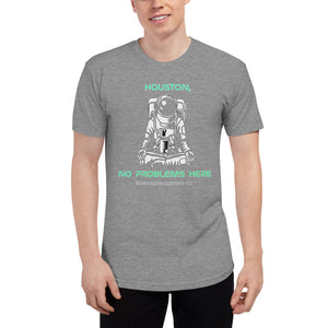 The Astronaut - Unisex Tri-Blend Track Shirt