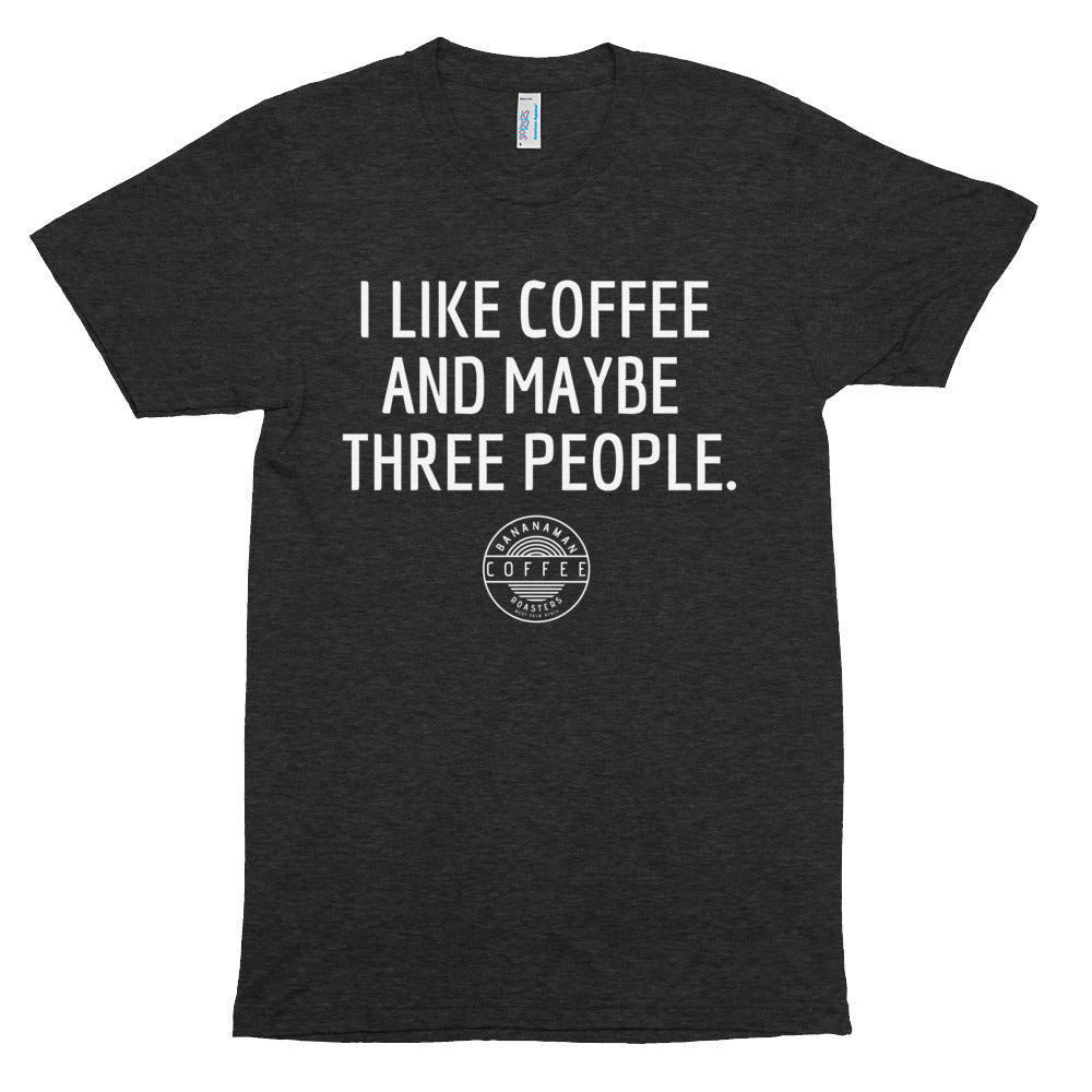 I Like Coffee - Unisex Tri-Blend Track Shirt