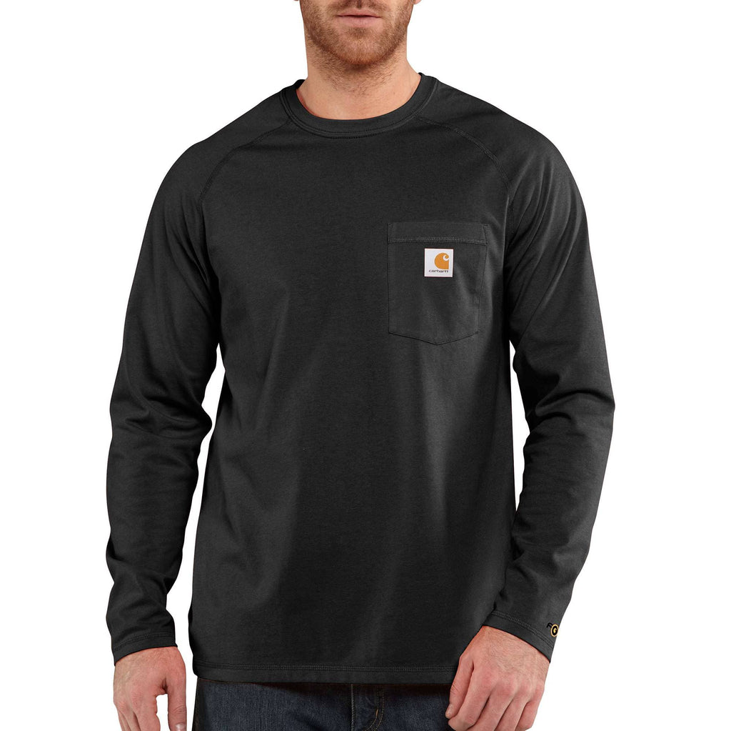 CARHARTT FORCE® COTTON DELMONT LONG-SLEEVE T-SHIRT 100393