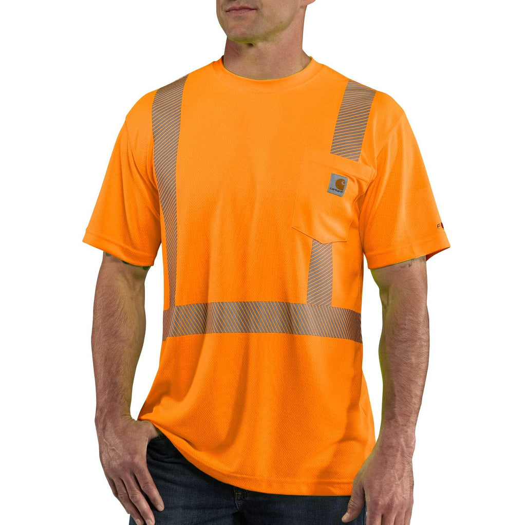 CARHARTT FORCE® HIGH-VISIBILITY SHORT-SLEEVE CLASS 2 T-SHIRT 100495