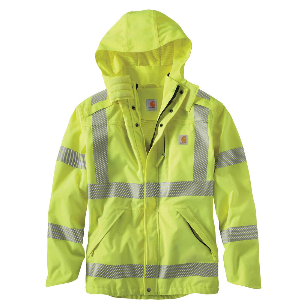 HIGH-VISIBILITY CLASS 3 WATERPROOF JACKET 100499