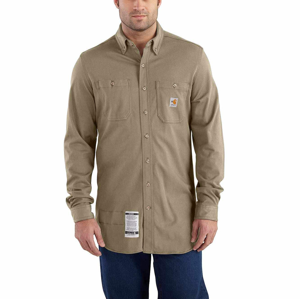 FLAME-RESISTANT CARHARTT FORCE® COTTON HYBRID SHIRT 101698
