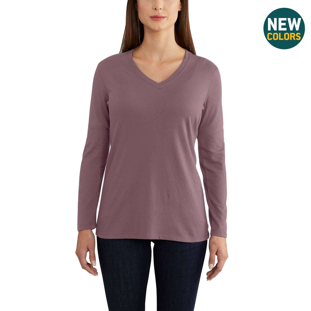 LOCKHART LONG SLEEVE V-NECK T-SHIRT 102761