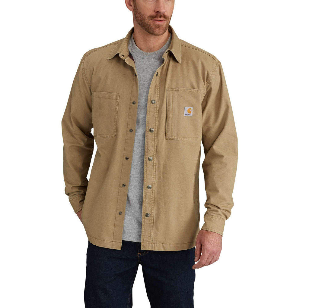 RUGGED FLEX® RIGBY SHIRT JAC/FLEECE-LINED 102851
