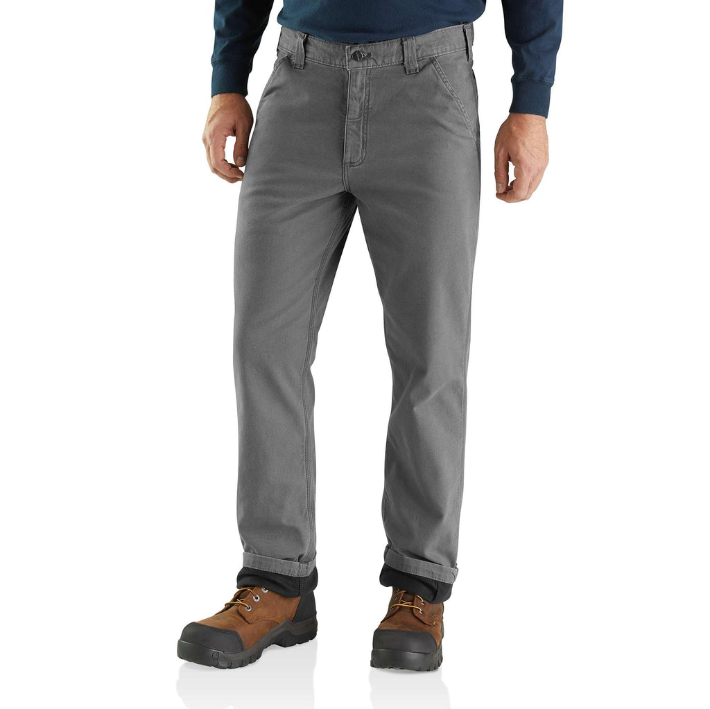 RUGGED FLEX® RIGBY DUNGAREE KNIT LINED PANT