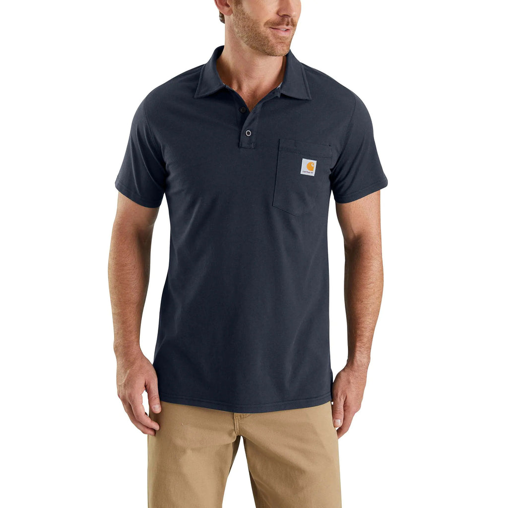 CARHARTT FORCE® COTTON DELMONT POCKET POLO 103569