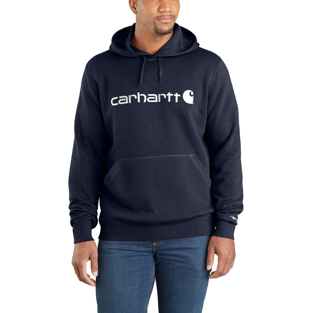 CARHARTT FORCE® DELMONT SIGNATURE GRAPHIC HOODED SWEATSHIRT 103873