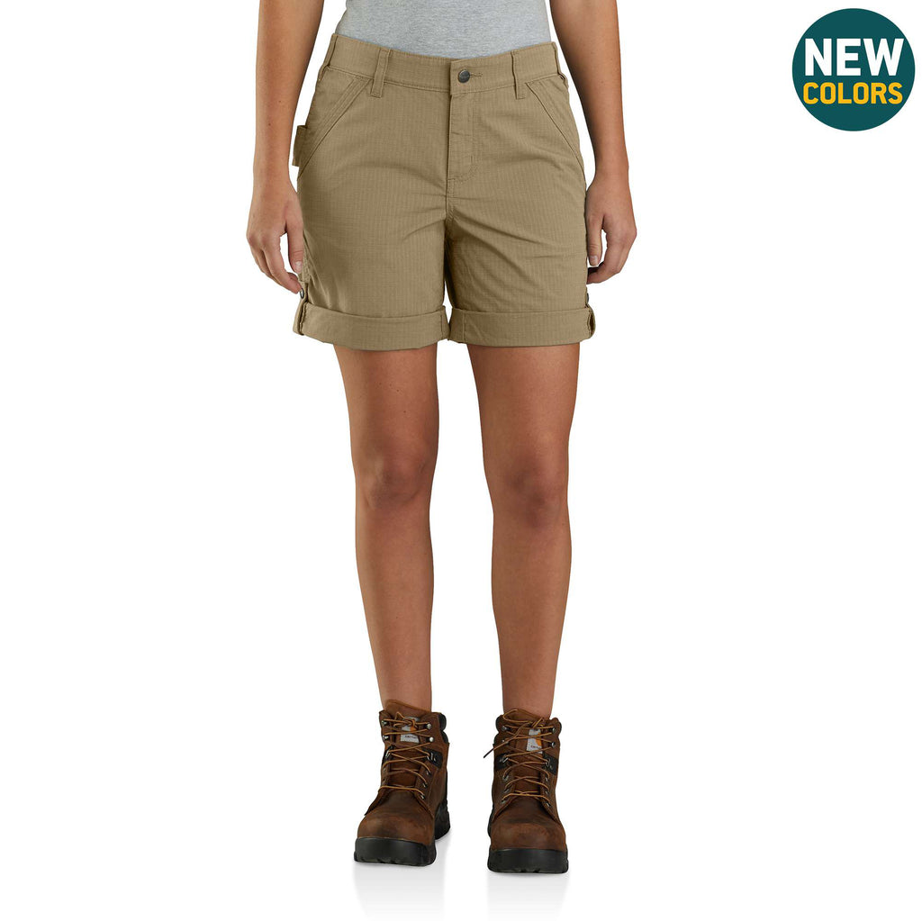 RUGGED FLEX® ORIGINAL FIT RIPSTOP FIVE-POCKET SHORTS 104213