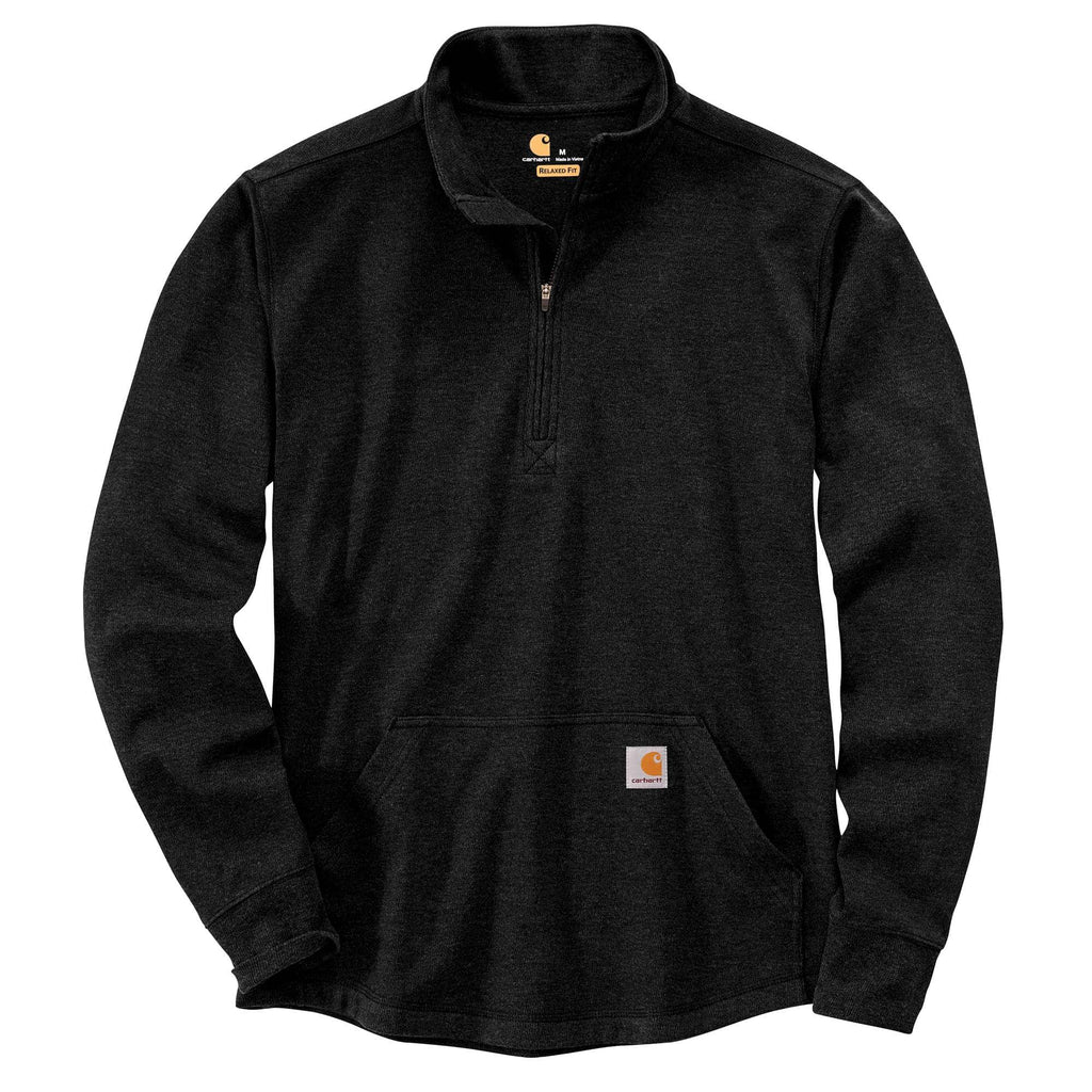 CARHARTT® RELAXED FIT HEAVYWEIGHT LONG-SLEEVE HALF ZIP THERMAL T-SHIRT 104428
