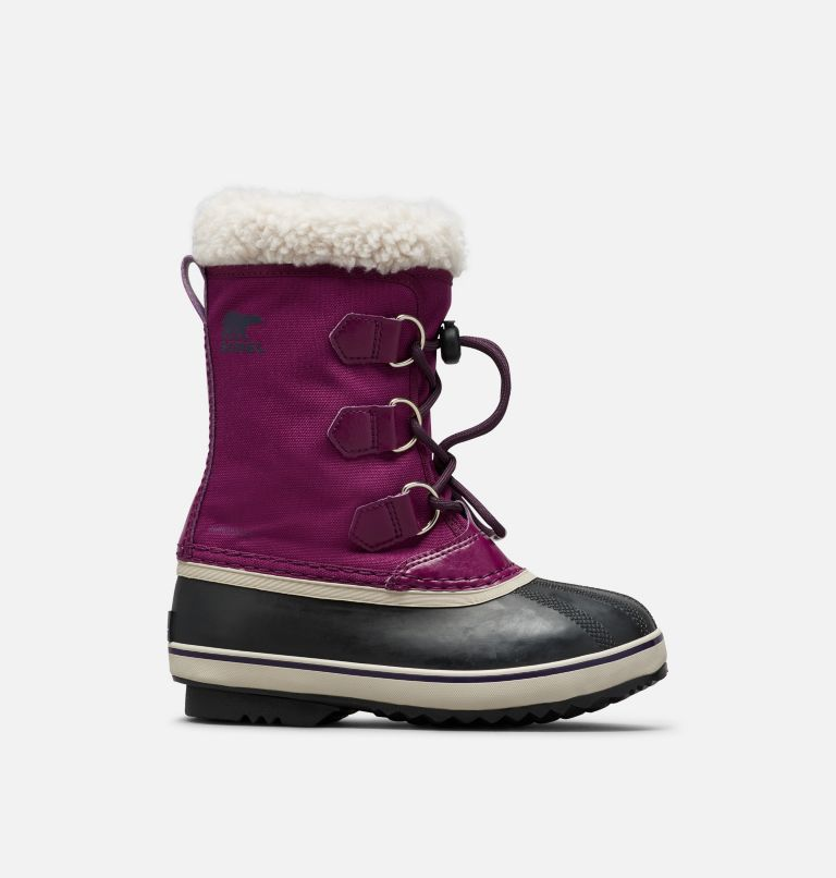SOREL CHILDRENS YOOT PAC™ NYLON BOOT DARK PLUM