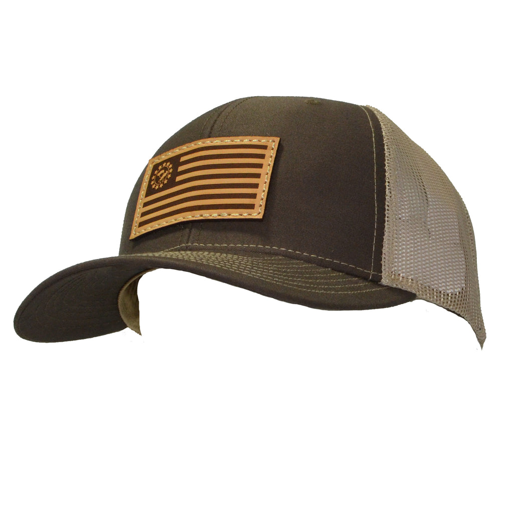Blue Collar Clothing Co. Betsy Ross Trucker Brown/Khaki 112