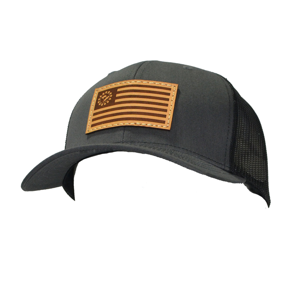 Blue Collar Clothing Co. Betsy Ross Trucker Charcoal/Black 112