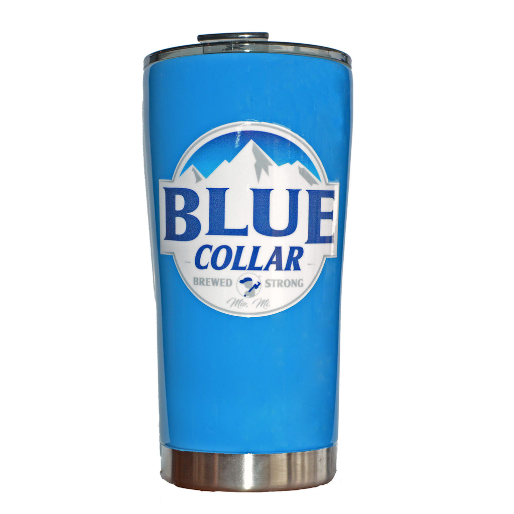 Blue Collar Clothing Co. Custom Dipped Mountain Tumbler 20oz