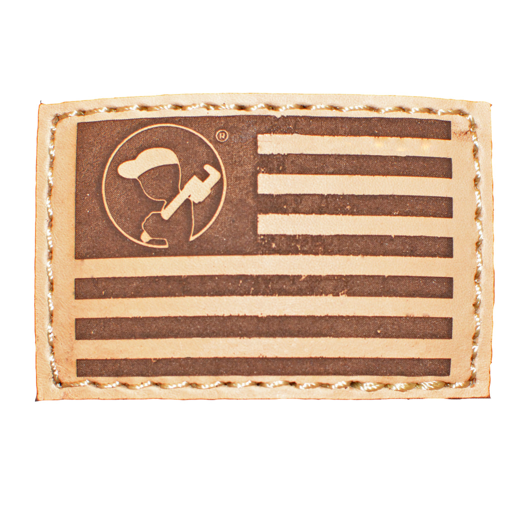 Blue Collar Clothing Co. Blue Collar Flag Trucker Brown/Khaki 112