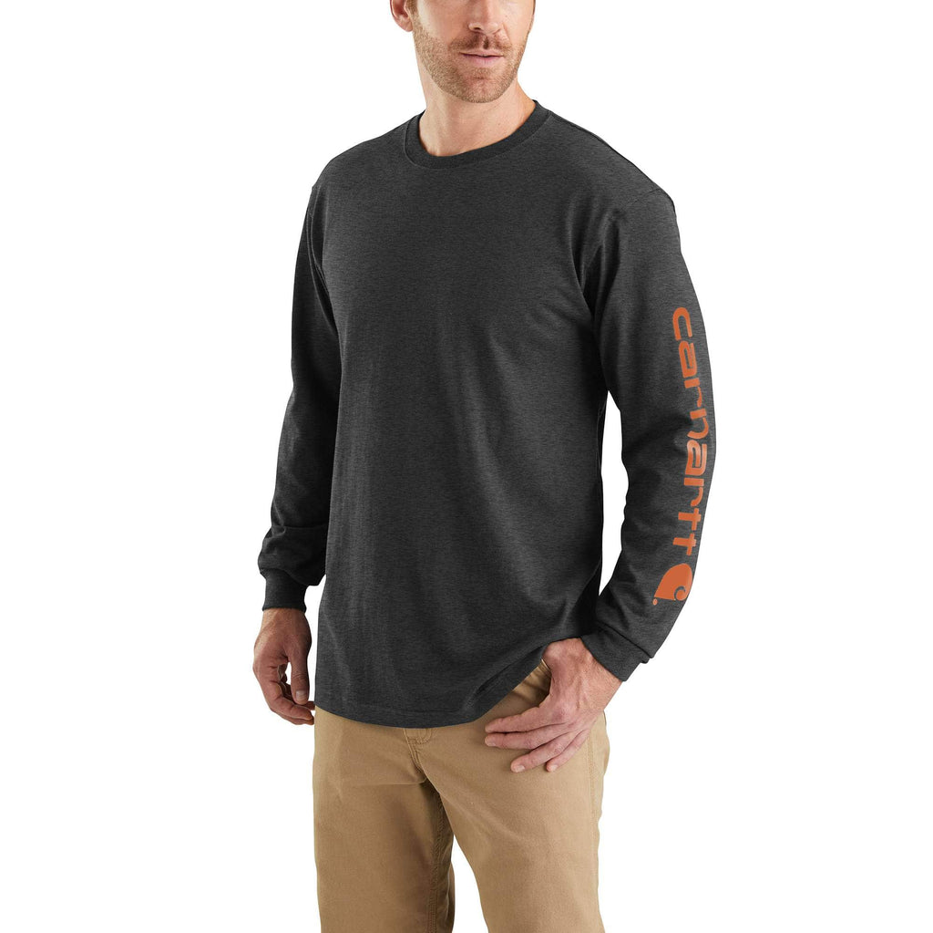 WORKWEAR LONG-SLEEVE GRAPHIC LOGO T-SHIRT K231