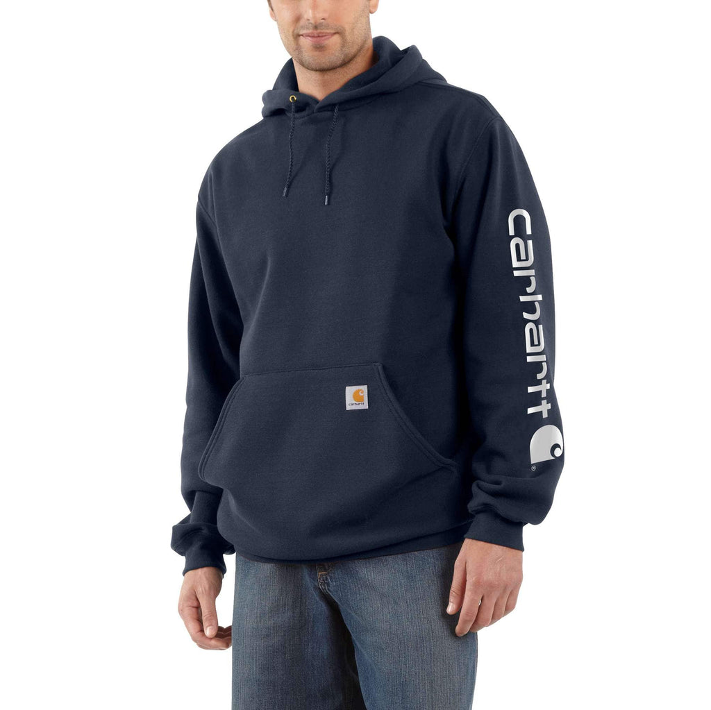 MIDWEIGHT HOODED LOGO SWEATSHIRT K288