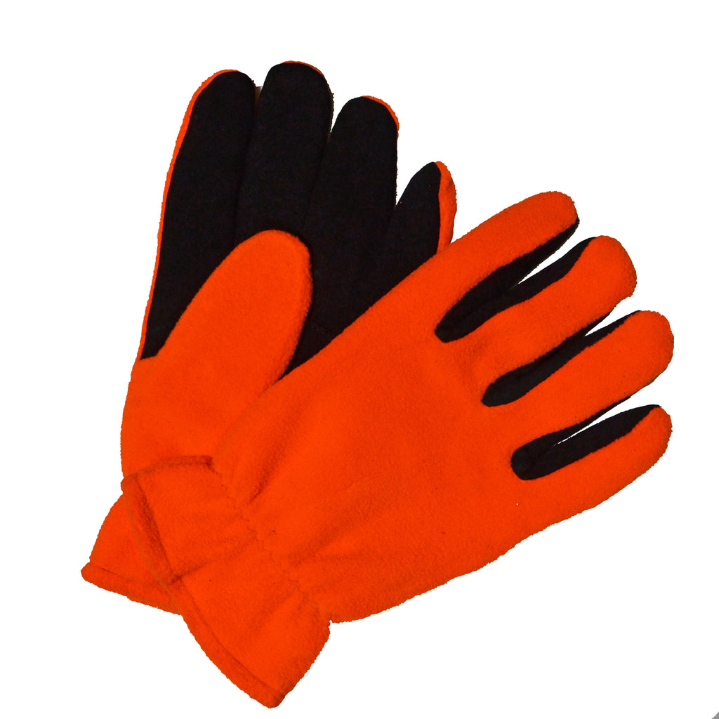 Wiebke Men's Orange Polar Suede Glove M720