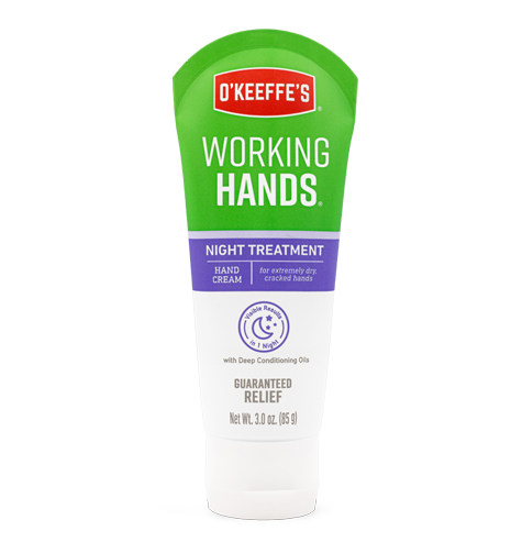 Working Hands Night Treatment HAND CREAM 3oz.