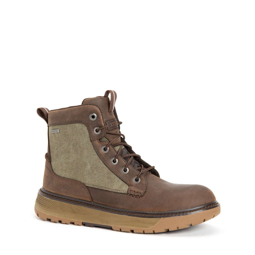 MEN'S BRISTOL BAY LEATHER CANVAS BOOT