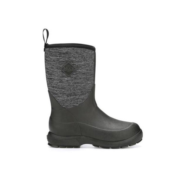 KIDS ELEMENT MUCK BOOT-Black Heather