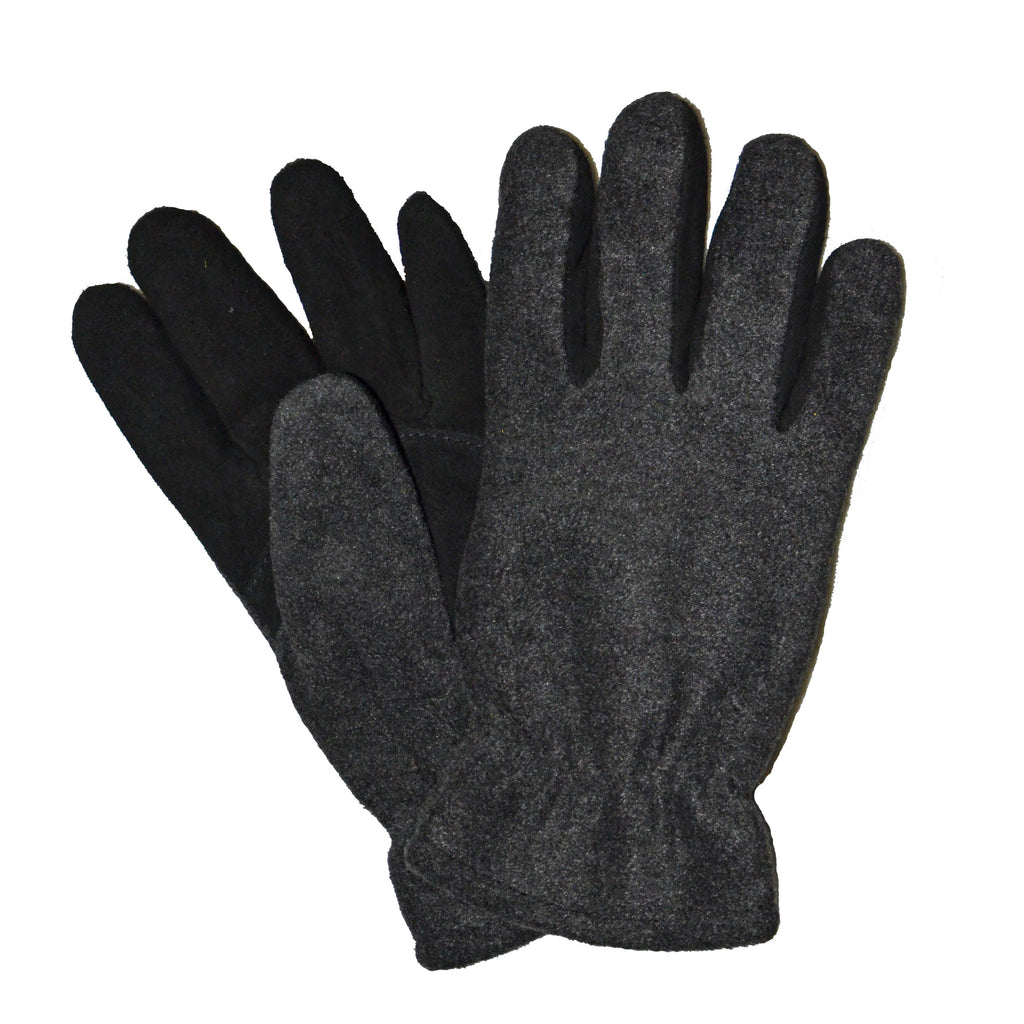 Wiebke Women's Gray Polar Fleece Glove LA710B