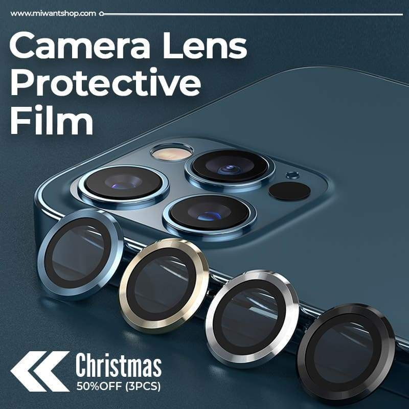(Christmas 50%OFF) HD iPhone Camera Lens Protective Film (3PCS)