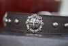 Silver Cross Concho Collar