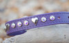 Heart Rhinestone Dog Collar
