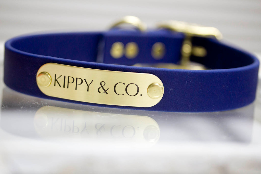Navy Blue Waterproof Collar