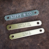 Personalized Name Plates in Brass or Silver