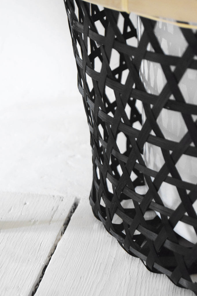 JYSK Black Bamboo Basket