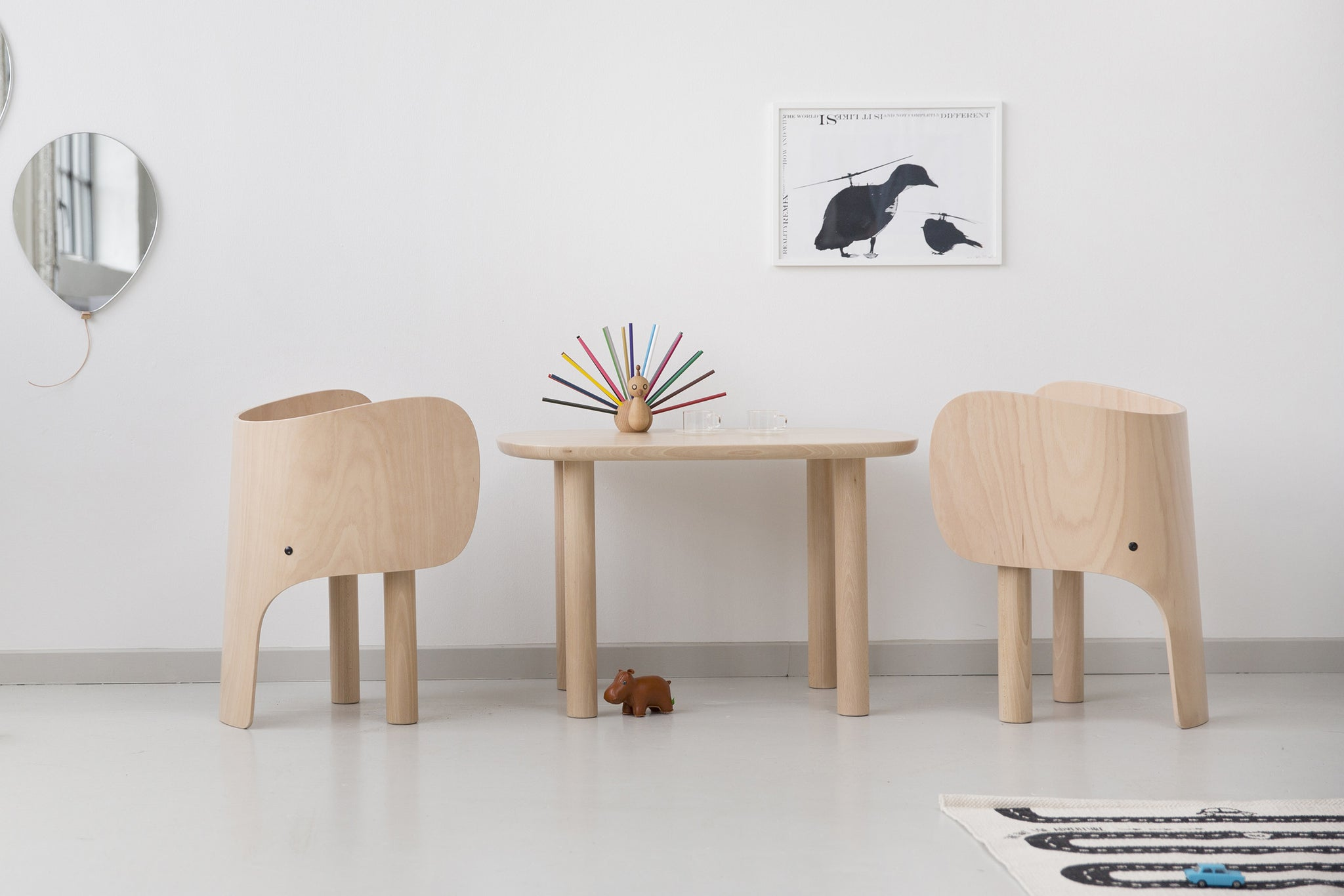 ELEMENTS OPTIMAL Elephant Chair from Someday Designs