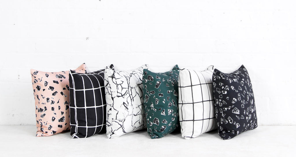 Florrie and Bill Fabric Collection Cushions