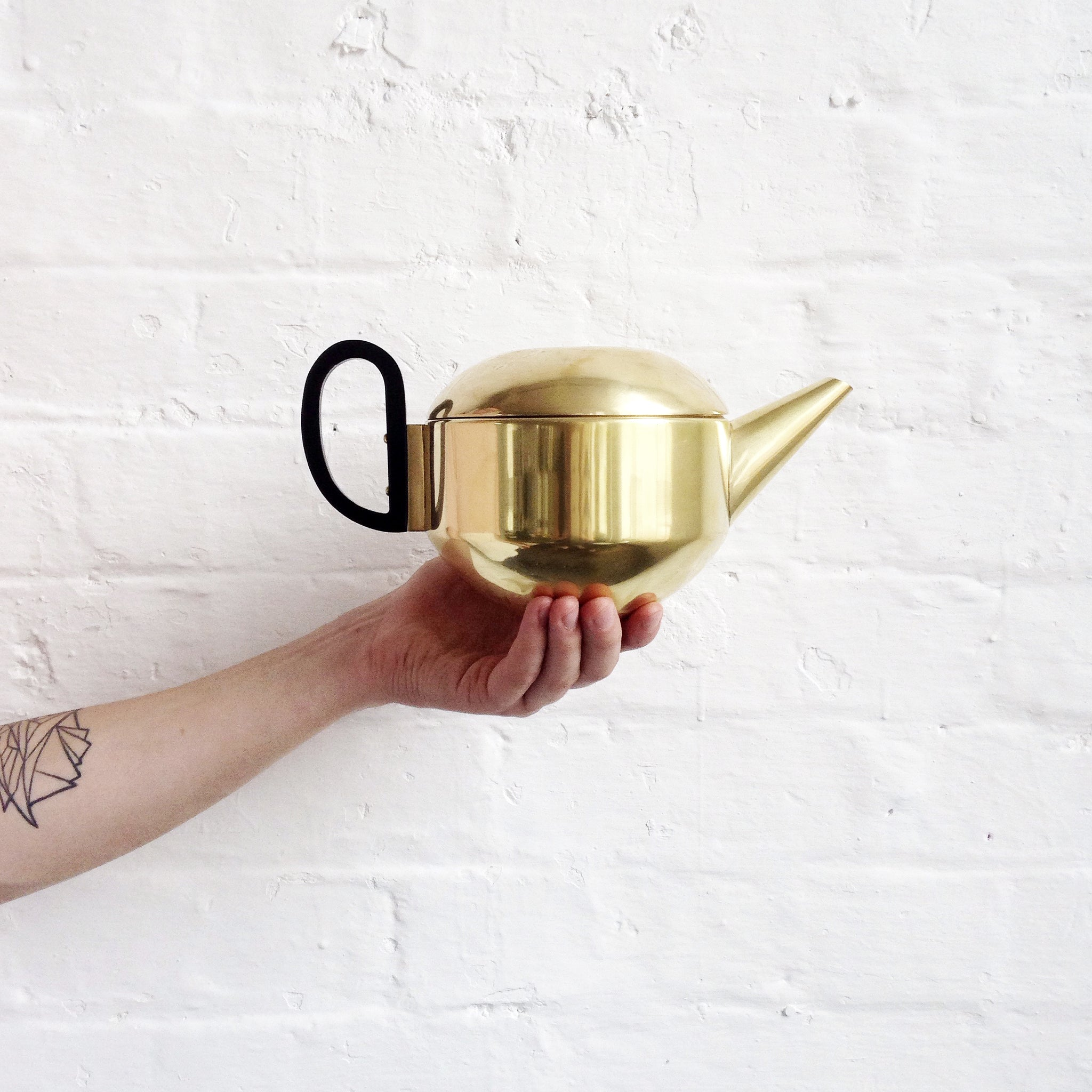 Tom Dixon Brass Teapot