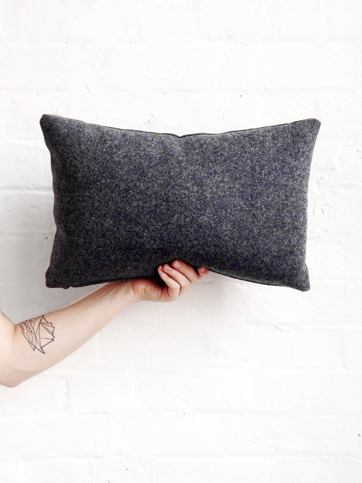 Grey Cushion from Florrie+Bill